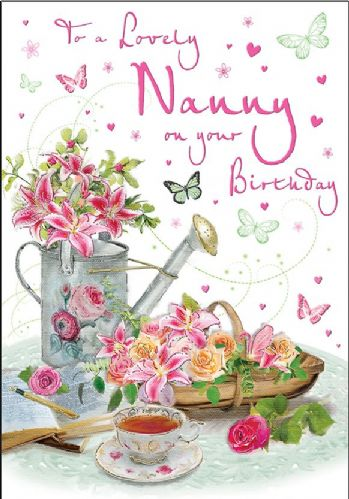 To A Lovely Nanny On Your Birthday